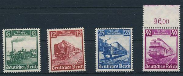 Deutsches Reich Mi.Nr.580-583 ** postfrisch