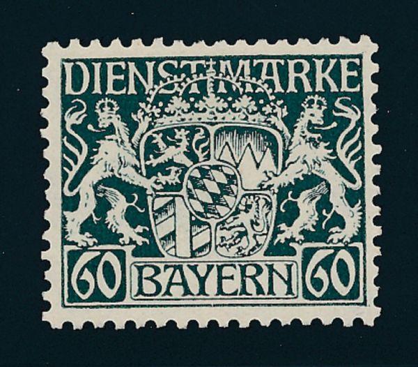 Bayern Dienst Mi.Nr.23 w postfrisch Lux Fotobefund BPP