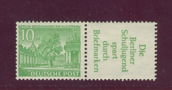 Berlin Zusammendruck W 21 ** postfrisch