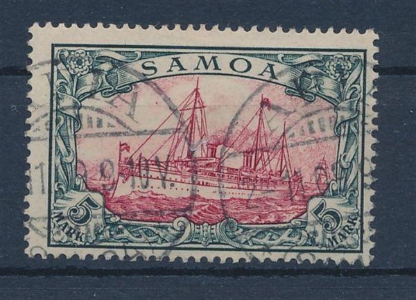 Samoa Mi.Nr.19 gestempelt Luxus Fotoattest BPP