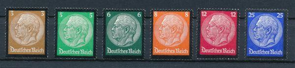 Deutsches Reich Mi.Nr. 548-53 ** postfrisch