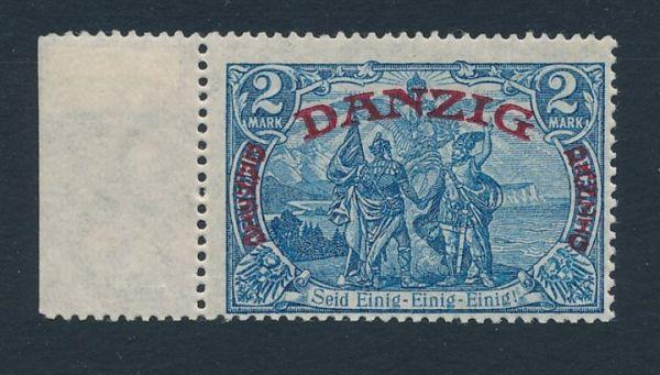 Danzig Mi.Nr.49 ** postfrisch Luxus Fotoattest BPP