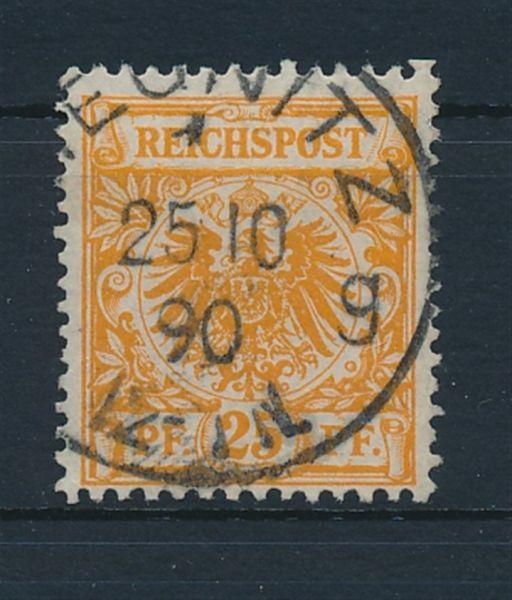 Deutsches Reich Mi.Nr.49aa gestempelt Lux Fotobefund