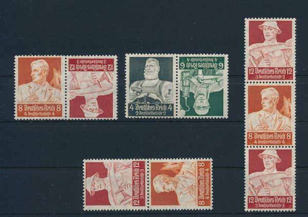 Deutsches Reich Zusammendrucke ** Sammlung