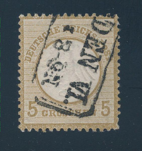Deutsches Reich Mi.Nr.6 II gestemp. Lux Fotobefund BPP