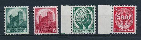 Deutsches Reich Mi.Nr.544-47 ** postfrisch (175.-Euro)