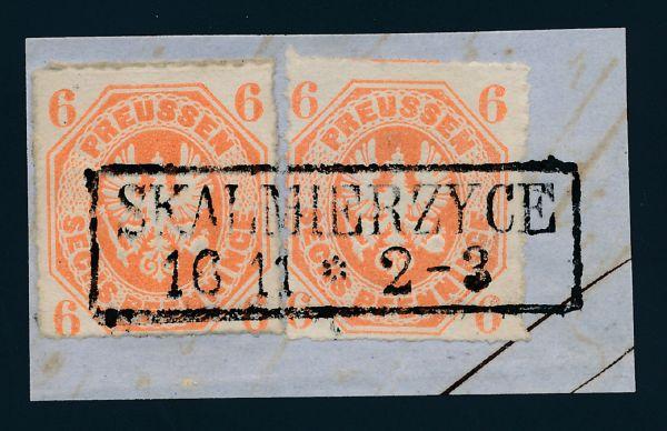 Preußen Mi.Nr. 15 Stempel Skalmierzyce