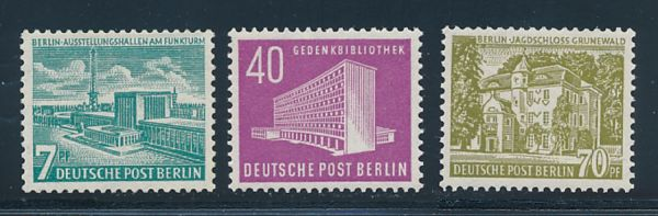 Berlin Mi.Nr.121-23 ** postfrisch