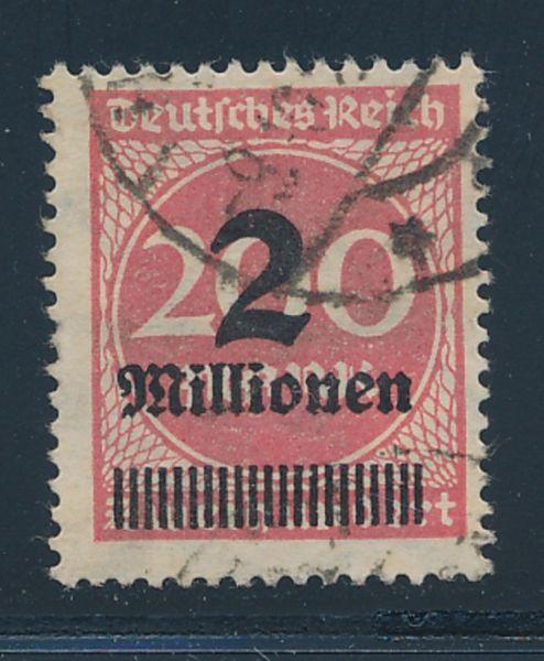 Deutsches Reich Mi.Nr.309 Y gestempelt Lux Fotobef.BPP