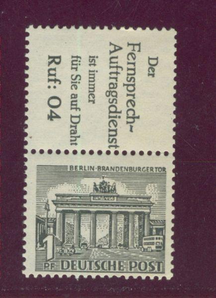 Berlin Zusammendruck S 9 ** postfrisch