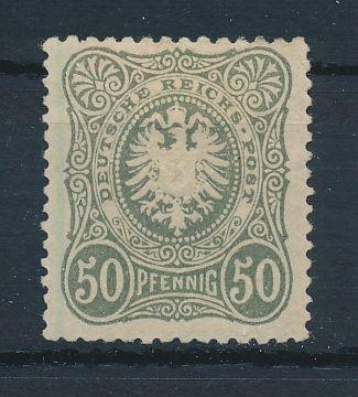 Deutsches Reich Mi.Nr.44a * Luxus Fotobefund BPP