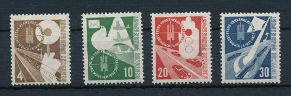 Bundesrepublik Mi.Nr.167-70 ** postfrisch geprüft