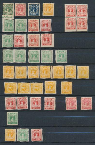 Stadtpost Flensburg Interessante alte Sammlung