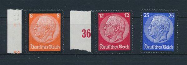 Deutsches Reich Mi.Nr.551-53 ** postfrisch (130.-Euro)