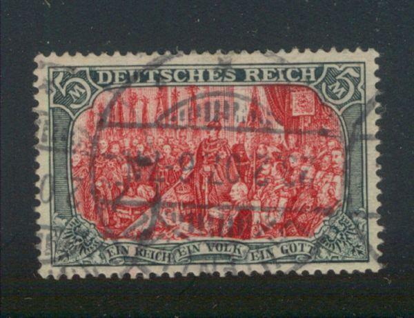 Deutsches Reich Mi.Nr.81 Aa gestempelt Lux Fotobef BPP