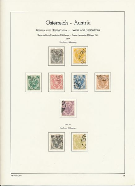 Bosnien+Herzegowina Umfangreiche gestempelte Sammlung