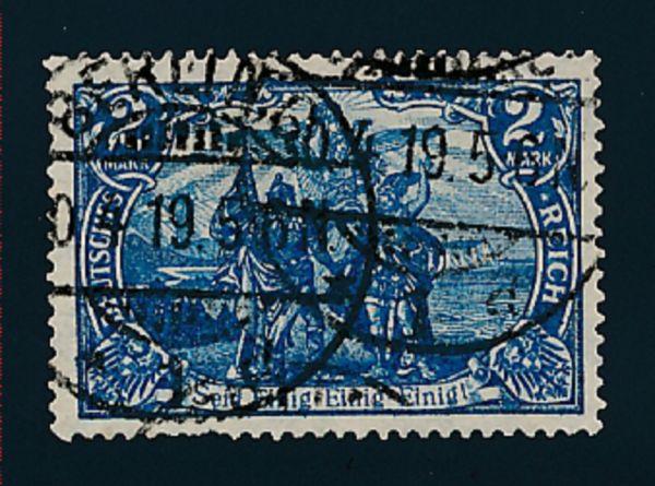Deutsches Reich Mi.Nr.95 B II c gestempelt geprüft