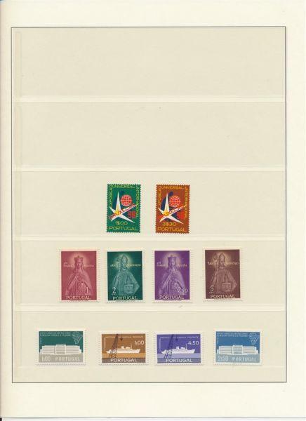 Portugal 1958 - 1982 nahezu komplette ** Sammlung