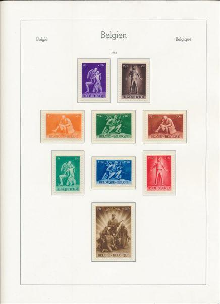Belgien 1945-1983 ** komplette Sammlung in LeuchtAlben