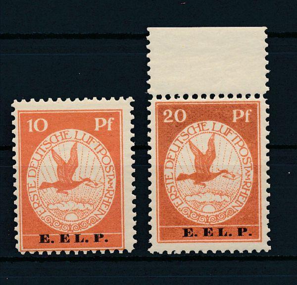 Deutsches Reich Mi.Nr.V + VI ** Luxus Fotobefund BPP