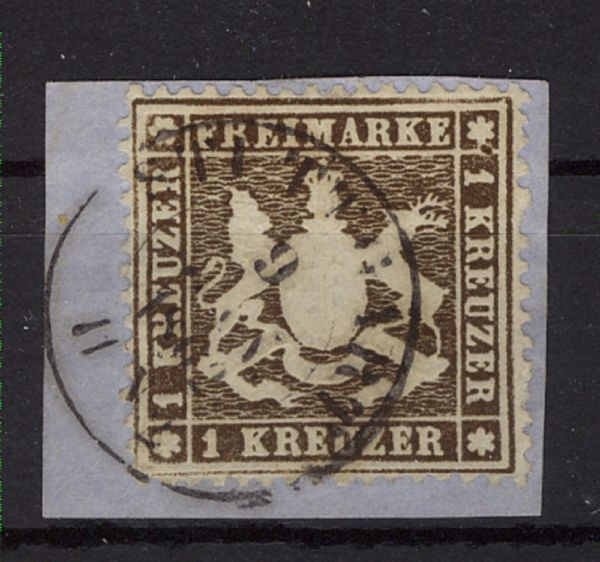 Württemberg Reich Mi.Nr.16yb gestempelt