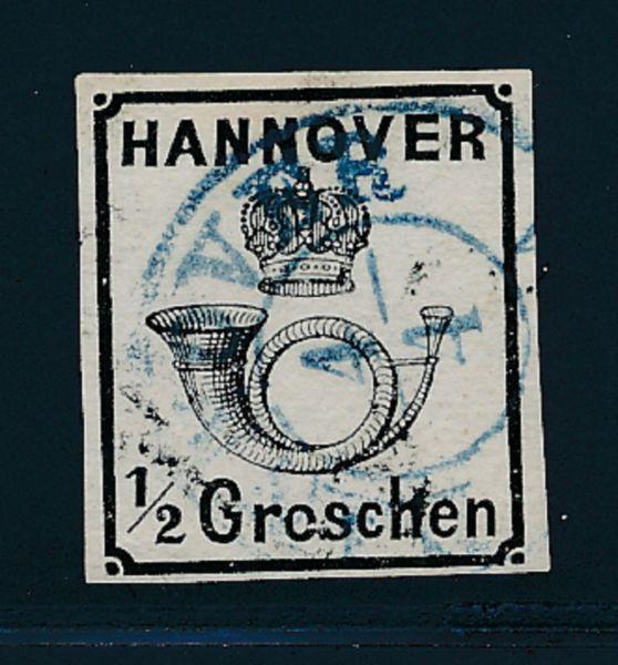 Hannover Mi.Nr.17y II gestempelt Lux Fotobefund BPP