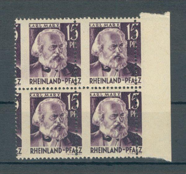 Rheinland Pfalz Mi.Nr.5 ** verschobene Zähnung