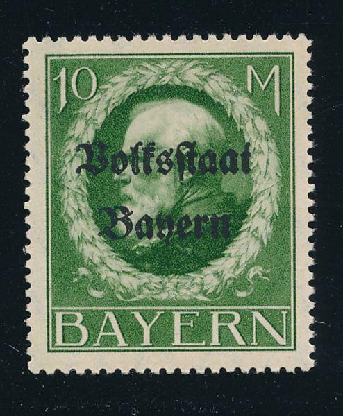 Bayern Mi.Nr.132IA ** postfrisch Lux Fotobefund BPP