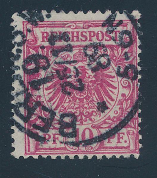 Deutsches Reich Mi.Nr.47aa gestempelt geprüft