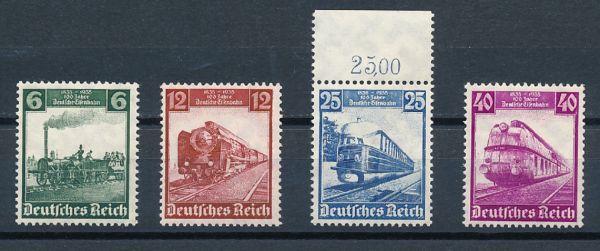 Deutsches Reich Mi.Nr.580-83 ** postfrisch