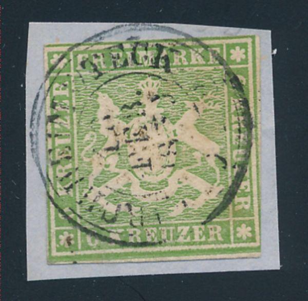 Württemberg Mi.Nr.8 gestempelt