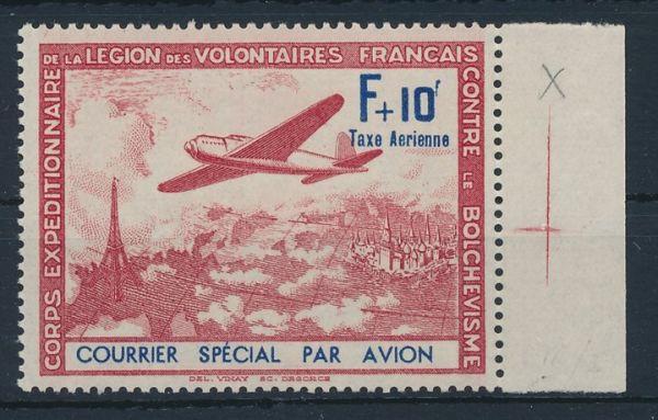 Frankreich Legion Mi.Nr.III ** postfrisch Fotobefund