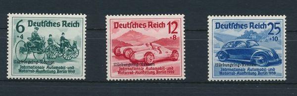 Deutsches Reich Mi.Nr.695-97 ** postfrisch (280.-Euro)