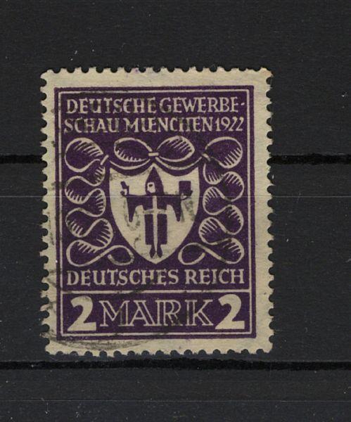 Deutsches Reich Mi.Nr.200 b gestempelt geprüft BPP