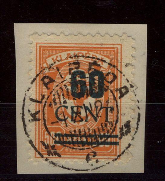 Memel Mi.Nr.237 I gestempelt Luxus Fotoattest BPP