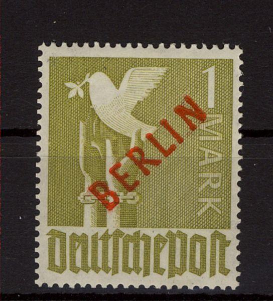 BERLIN Mi.Nr. 33 ** postfrisch geprüft Schlegel BPP
