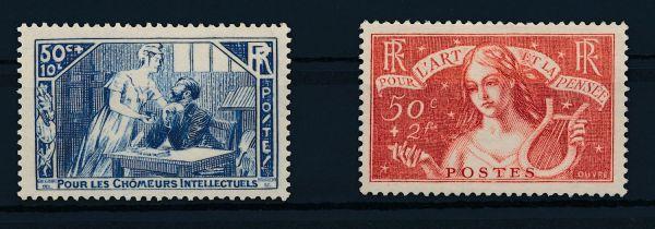 Frankreich Mi.Nr.303-304 ** postfrisch