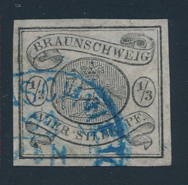 Braunschweig Mi.Nr.5 gestempelt