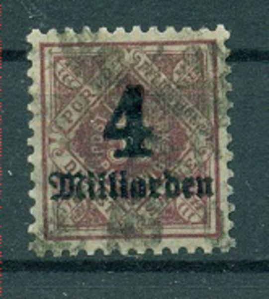 WÜRTTEMBERG Mi.Nr. 182 gestempelt geprüft