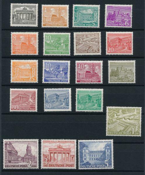 Berlin Mi.Nr. 42-60 ** postfrisch