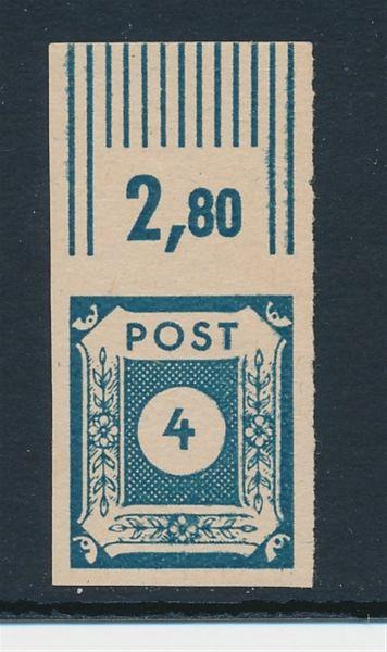 SBZ Mi.Nr. 53 c ** postfrisch Luxus Fotoattest BPP