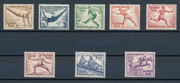 Deutsches Reich Mi.Nr.609-16 ** postfrisch geprüft