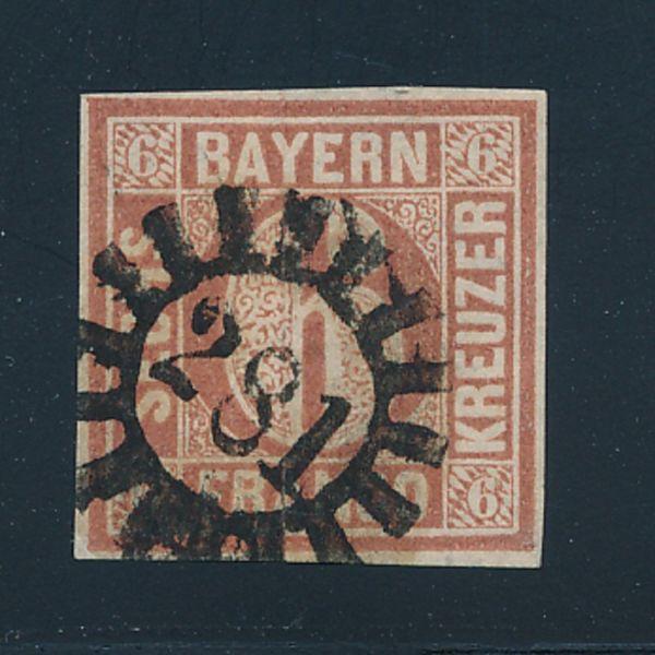 Bayern Mi.Nr.4 I gestempelt Luxus Fotobefund BPP