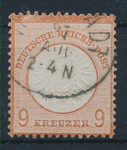 Deutsches Reich Mi.Nr.27a gestempelt Lux Fotobef. BPP
