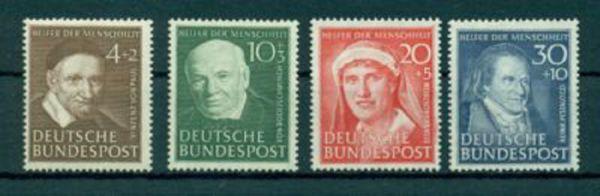 Bund Mi.Nr. 143 - 146 ** postfrisch