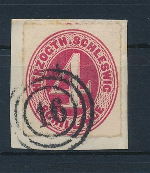 Schleswig Holstein Mi.Nr.3 gestempelt Lux Fotobef. BPP