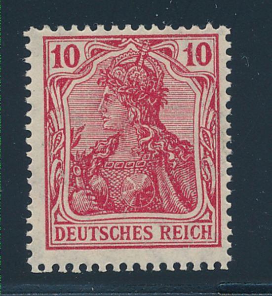 Deutsches Reich Mi.Nr.86 II f ** Lux Fotobefund BPP