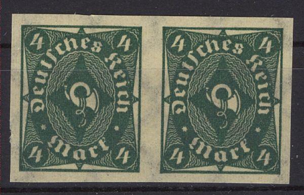 Deutsches Reich Reich Mi.Nr.226 U Paar ** postfrisch