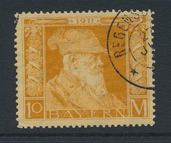 Bayern Mi.Nr.90 II gestempelt Luxus Fotobefund BPP