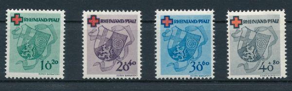 Rheinland Pfalz Mi.Nr.42-45 ** postfrisch